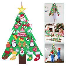 Bambini fai da te feltro albero di Natale decorazioni regali Natale Muro Appeso