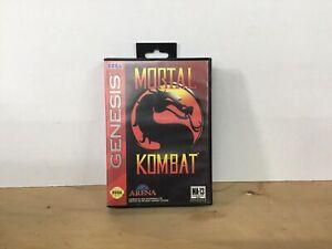 Mortal Kombat Sega Genesis CIB