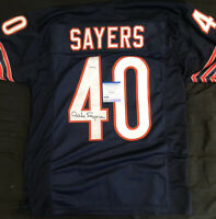 Gale Sayers Signed Autographed Chicago Bears Jersey PSA COA
