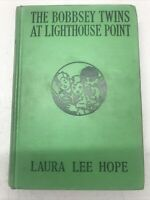 THE BOBBSEY TWINS AT LIGHTHOUSE POINT 1939 Laura Lee Hope Children's Series