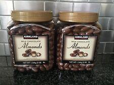 KIRKLAND Milk Chocolate Almonds Roasted almonds covered in milk chocolate 2ct