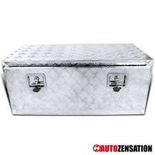 "36"" Heavy Duty Aluminum Tool Box Truck Storage Trunk Trailer Flat Bed Underbody"