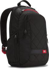 Case Logic DLBP-114 14-inch Laptop mochila-negro y rojo