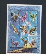 XC94960 Guinea prehistoric animals dinosaurs XXL sheet MNH