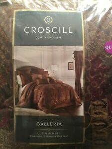 Croscill Galleria Queen 4 pcs comforter set NEW