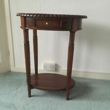 Mahogany Oval Side & End Tables