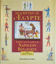 1998 – DESCRIPTION DE L'ÉGYPTE PUBLIÉ SOUS LES ORDRES DE NAPOLÉON BONAPARTE
