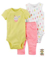 Carter's 3-piece Set Cupcake 9mos Authentic & Brand New