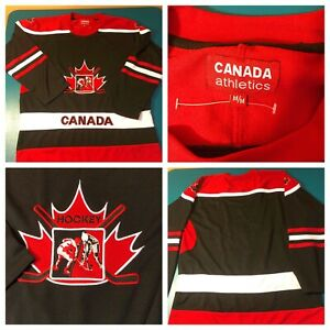 CANADIAN HOCKEY JERSEY Canada Athletics New Without Tags Mens Med