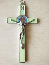 Christ Cross Crucifix Holy JESUS Catholic Statue Hanging Religious Saint Decor