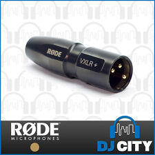 Rode VXLR+ 3.5mm Mini-Jack to 3-Pin XLR Male Adaptor - Genuine RODE Accessory