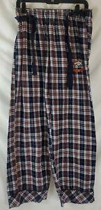 NFL Team Apparel Broncos Women's Large Fleece Sleep Pajama Lounge Pants