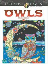 Adult Coloring Books Paintings Art Pages Dover Decorative Arts Design Haven Owls
