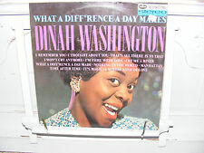 Dinah Washington LP What A Diff'rence A Day Makes VG/EX 1966