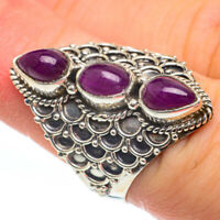 Ruby 925 Sterling Silver Ring Size 6.75 Ana Co Jewelry R61530F