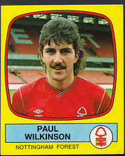 Panini football 1988 sticker-nº 194-nottingham forest-paul wilkinson