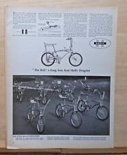 "1967 magazine ad for Huffy Dragster bikes - ""The Rail"", Miss Americas, regulars"