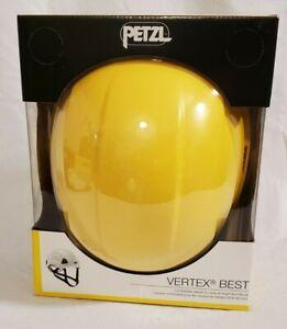 PETZL Vertex BEST Yellow Helmet (53-63 cm) for Climbing, Work/Rescue, Arborist