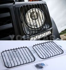 USA STOCK x2 Genuine Headlight Stone Guard Grills Mercedes W463 Professional G63