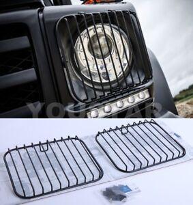 AU STOCK Genuine x2 Headlight Guard Grills for Mercedes Benz W463 G Wagon Class