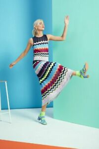 NWT Gorman Neon Knit Skirt, elasticised waist Size 8