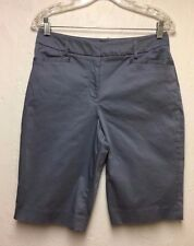 Pendleton Women's Cotton - 2% Spandex Blend Casual Shorts Blues Sz; 6 Cute!