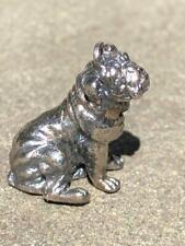 Dog Charm Shar-Pei Dog Silver Tone Substantial Lovely