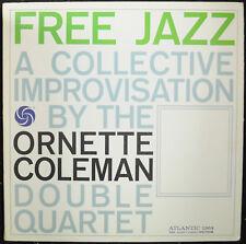 "ORNETTE COLEMAN ""Free Jazz"" Atlantic 1364 (Reissue) Glossy/EX Jazz LP Stereo"