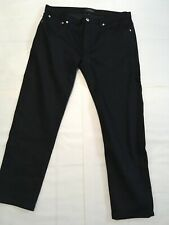 A.P.C mens petit new standard jeans black sz 34