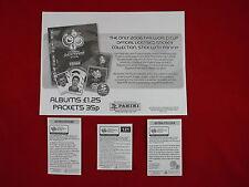 Panini WM 2006 Update Barreto, Inzaghi, Lehmann, England-Bogen Sticker WC 06