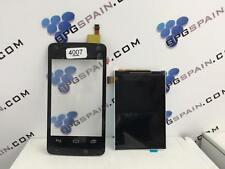 Pantalla táctil Touch+ LCD color negra Para ALCATEL ONE TOUCH PIXI 4007 ENVIO ES
