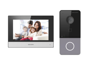 Hikvision DS-KIS603-P IP PoE HD 2MP Wifi IP65 Video Intercom 7-Inch Touch Screen