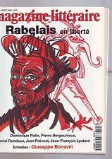 le magazine litteraire 319 - mars 1994 - rabelais -