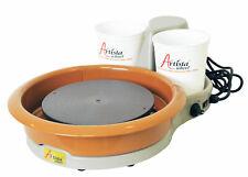 Speedball Portable ARTISTA Table Pottery Wheel 11in Head 25lb Centering Capacity