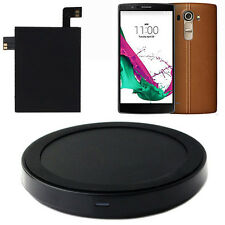 2015 Qi Wireless Charger Charging Pad + Qi Receiver Sticker With NFC For LG G4