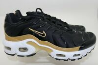Nike Air Max Plus (GS) CD0609-002 Black Gold Youth Size 3.5Y