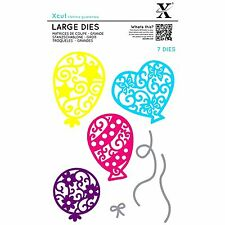 DOCRAFTS XCUT LARGE DIES FILIGREE BALLOONS - 7 DIE SET NEW 2016