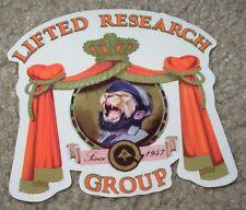 LRG Lifted Research Group Castro Logo STICKER skate skateboard helmet decal