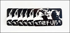 The F-Ups Record Company Promo Stickers Lot Of 6 / Punk Rock