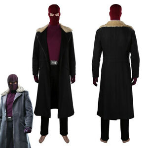 The Falcon and the Winter Soldier Baron Zemo Cosplay Costume Halloween Suit