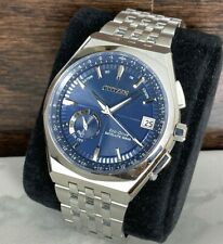 Citizen Men's Eco-Drive Satellite Wave Watch World Time GPS Perpetual CC3020-57L