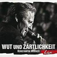 Wut und Zärtlichkeit - LIVE von Wecker,Konstantin | CD | Zustand gut