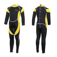 Hisea 2.5MM Neoprene Wetsuits Kids Swimwear Diving Long Sleeves Surfing SZ 10