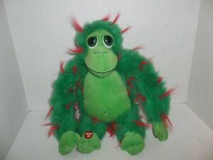 russ berrie green abbot monkey ape gorilla plush