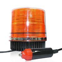 Luce Lampeggiante Led Rotante Strobo Arancio Magnetico 12V Trattore Auto Camion
