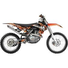 Factory Effex Metal Mulisha Graphics KTM SX250-450F 15.5 SX125-450F 16 17 NEW