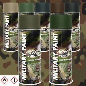6er Sparpack 400ml Militär Army Militärlack Lackspray Tarnfarbe Farbe wählbar