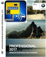 BMW ROAD MAP EUROPA 2017 PROFESSIONAL NAVIGATION UPDATE PRO NAVI DVD+SPEED CAM