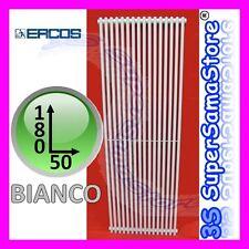 3S TERMOARREDO CALORIFERO DESIGN ORION ERCOS 180 x 50 - BIANCO 9010 TUBI ACCIAIO
