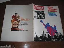 EPOCA 1971/1105=JOHN LINDSAY=AUTOSTRADA AMAZZONIA=ROMA ANTICA COME ERA=